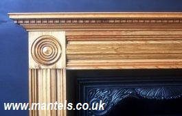 Large Georgian Mantel in Pine
